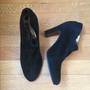 Sam Edelman black Suede Booties s - Simone